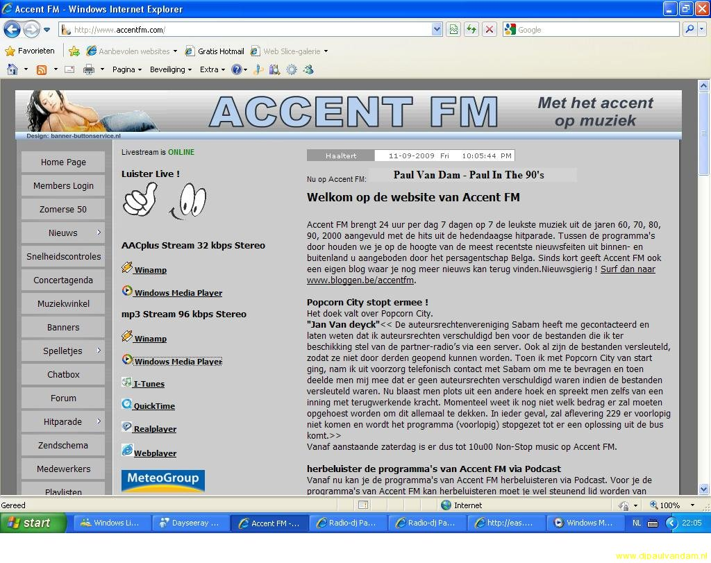 Accent FM Paul in the 90\'S