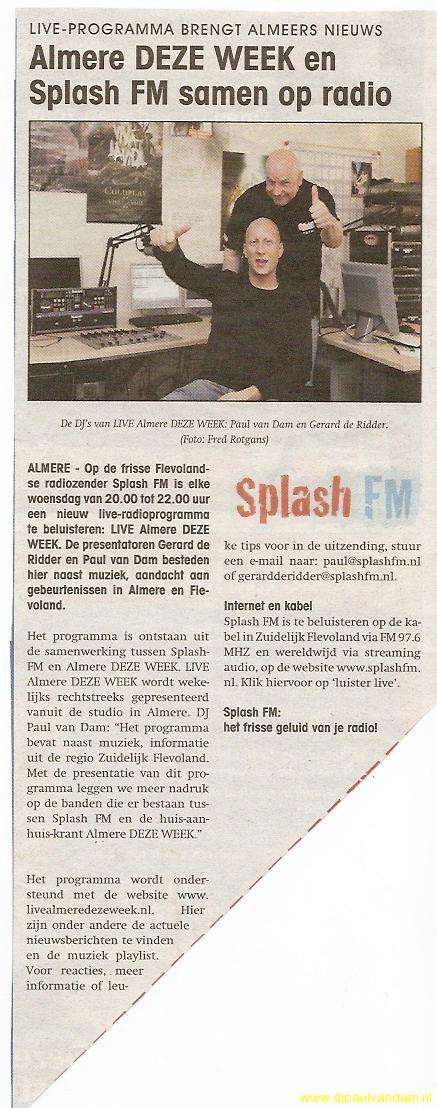 Live Almere Deze Week in de krant 150409