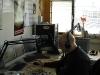 2009 14 feb 1e keer op Splash FM